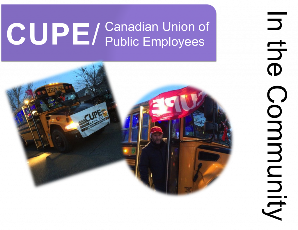 cupe in the community